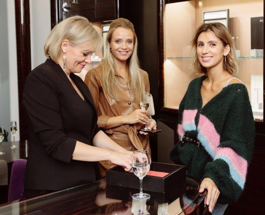 Antonini clients at Monza boutique S.Petersburg