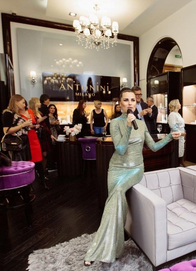 Antonini event at Monza boutique S.Petersburg