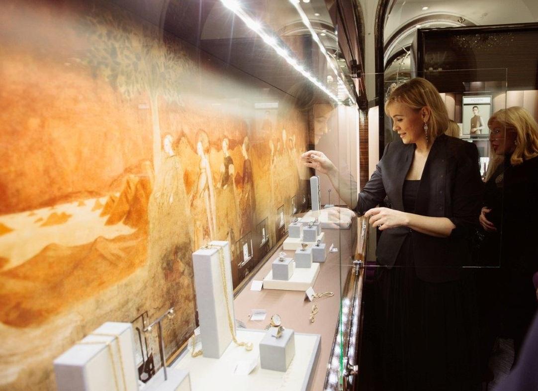 Antonini jewels at Monza boutique S.Petersburg