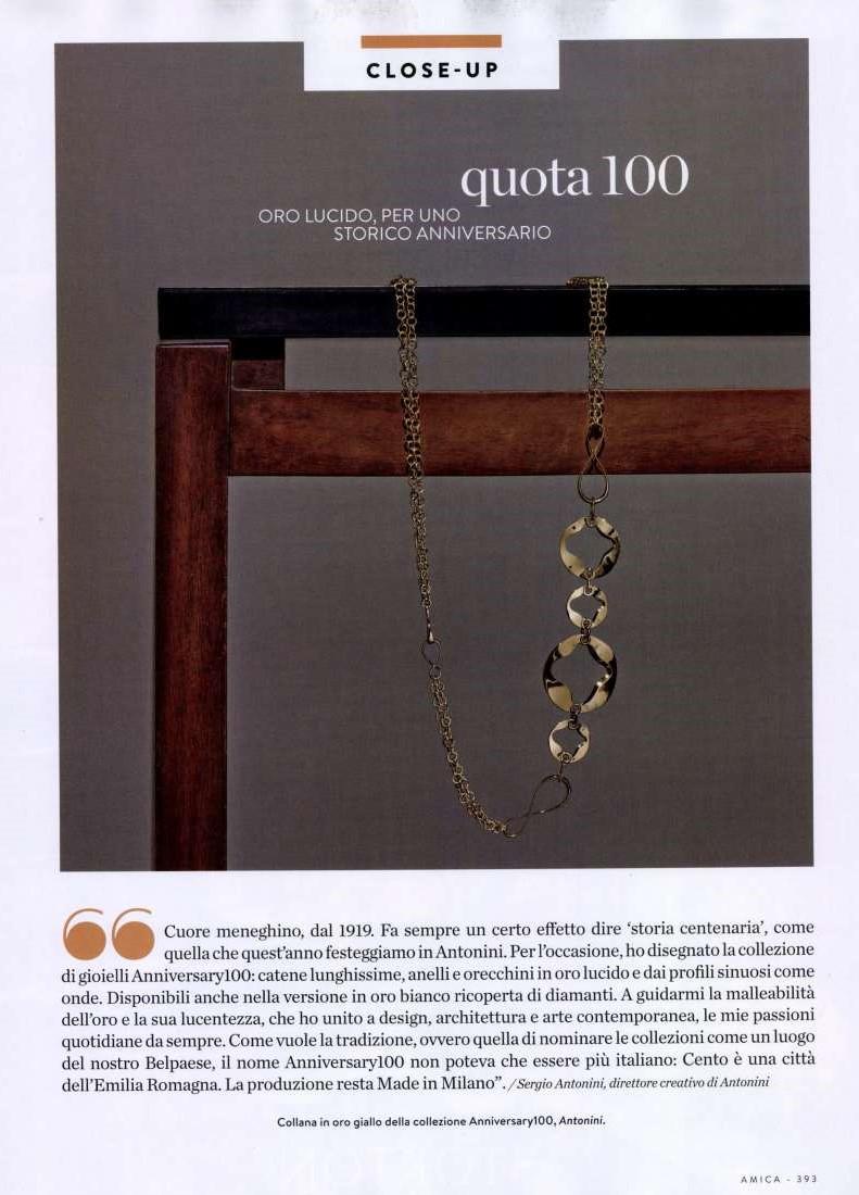 Magazine Amica Anniversary100