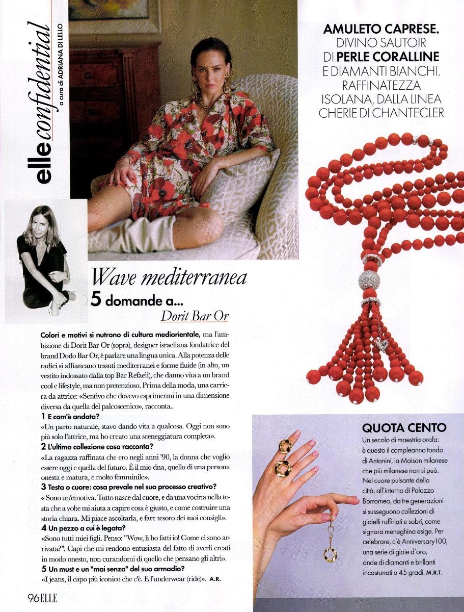 Elle Anniversary100 collection Antonini
